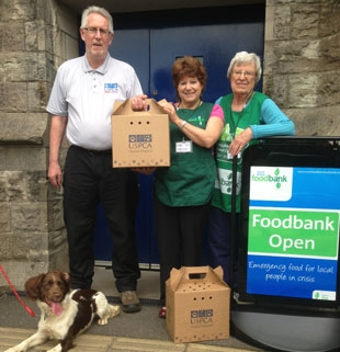 USPCA provides Pet Food Parcels for The Trussell Trust Food Bank Network