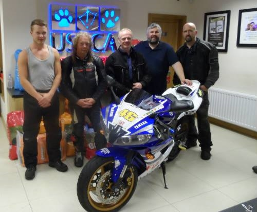 Rathfriland Motor Cycle Club Donation